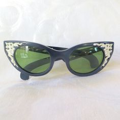 Cool Ray Polaroid Sunglasses Cat Eye by VintageVogueTreasure