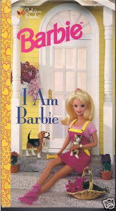 Barbie Golden Book I Am 1998 Mattel