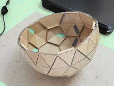 How to Make a Geodesic Dome's Scale Model With Cardboard,: 7 Steps