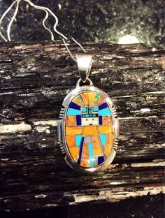 A personal favorite from my Etsy shop https://www.etsy.com/listing/545104992/native-american-jewelry-sterling-silver