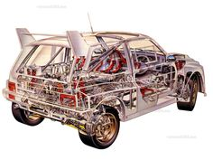 Group B MG Metro 6R4  Courtesy: www.awdwiki.com