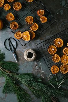 A Daily Something | Simple DIY for Dried Orange Garland