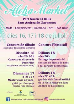 carteles maresme http://www.open-buzoneo.com/carteles-publicitarios/pegada-de-carteles-en-sant-andreu-de-llavaneres-y-el-maresme-para-aloha-market/