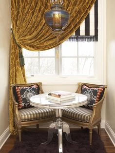 Reading Nook:  Possibilities for: Stair Landing; Gable or Bay Window; Hall End;...    Rachel Kate's Design Portfolio : Design Star : Home & Garden Television