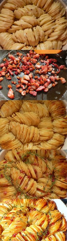 Crispy Potato Roast. Have to scroll wayyyy down to bottom of site to see recipe. Need to try this!