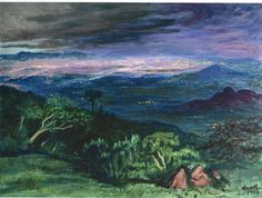 Gerardo Murillo Mexico City by Night 1960