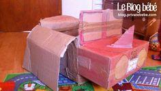 Une voiture-avion à fabriquer avec de vieux cartons. C'est par une journée glaciale que j'ai remonté deux cartons dans la chambre de mon...