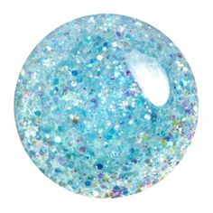 Portia - Sheer tropical blue with opalescent glitter