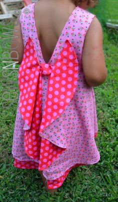 Secret Garden Dress Pattern + Giveaway -