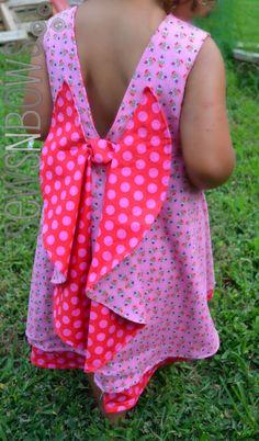 Secret Garden Dress Pattern + Giveaway -