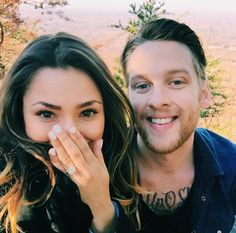 This is such an amazing engagement ring selfie to post right after your proposal! So pretty!