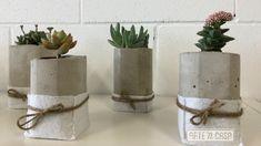 Macetas de cemento paso a paso Head Planters, Concrete Cement, Concrete Planters, Planter Pots, Cement Crafts, Ceiling Medallions, Diy Videos, Easy Projects, Craft Tutorials