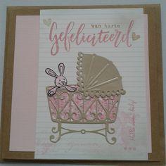 gemaakt door Marielle # stempels Karin Joan # Eline Pellinkhof Hello Sweet Baby