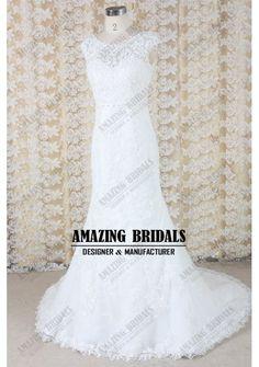 Amazing mermaid venice lace wedding dress wedding gown
