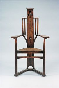 Arts and Crafts Chair by E.G.Punnett