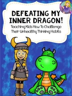 Everyone has an inner dragon. I( actually had mine come pay me a visit today.) Your inner dragon represents the unhealthy thinking habits that create feelings of anxiety, stress, anger, or depression in children. This product is designed to help children learn how to defeat their inner dragon.