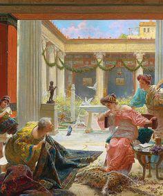 Ettore Forti, The carpet seller. (2) Tumblr
