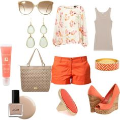 Summer Vacation, created by jndouc2 on Polyvore