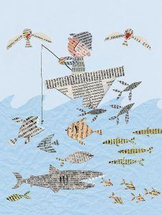 newspaper-fish2 Stella Baggott
