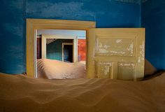 """The Blue Room"" - Kolmanskop, Namibia"