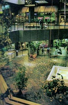 Sandton City interior late 1970's