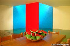A perfect mix of color and physics, Casa Gilardi - Luis Barragan