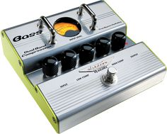 Ashdown Dual Band Compression pedal with true bypass switching -