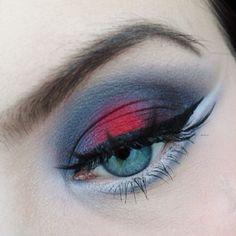 Oh so beautiful! Silje created this gorgeous look using Sugarpill Love+ and Tako eyeshadows.