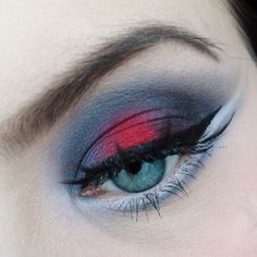 Oh so beautiful! Silje created this gorgeous look using Sugarpill Love+ and Tako eyeshadows.