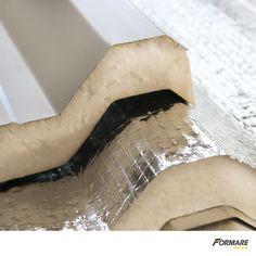 As Telhas Semi-Sanduíche Formare Metais reúnem as principais vantagens da termoacústica sanduíche,  por um custo menor.  Saiba mais sobre esse e outros produtos em nosso site. Visite  www.formaremetais.com.br