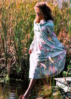 Laura Ashley vintage dress from the Spring 1988 catalog.
