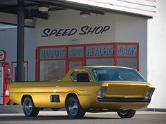 1965 Dodge Deora Concept Truck (anyone see the famous Hot Wheel car?)
