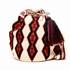 Handmade Wayuu Bag -  Quick Ship Anywhere $275.00 #wayuubags www.wayuutribe.com