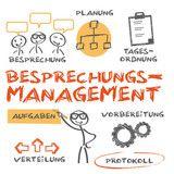 Vektor: Besprechungs-Management