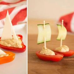 Healthy (AND CUTE) appetizer before Thanksgiving dinner!!? :)