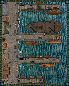 Dundjinni Mapping Software - Forums: OLDPORT a Waterfront Map