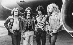 Herunterladen hintergrundbild hackerspace zeppelin, jimmy page, john bonham, robert plant, john paul jones, british rock band, retro photo