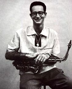 Paul Desmond  way early on.  Paul Desmond had musical training on the violin and clarinet, but it wasn't until he was a Freshman at SF State that he began to play the alto saxophone.  He was soon drafted into the army and spent three years with the 253rd Army Ground Forces Band.  It was during this time he was introduced to another fellow serviceman who played piano, Dave Brubeck.