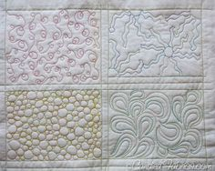 Studio Snapshots | Building a Sampler Book for Free Motion Quilting Motifs | Candied Fabrics
