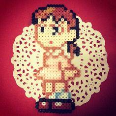 Shizuka Doraemon perler beads by season322