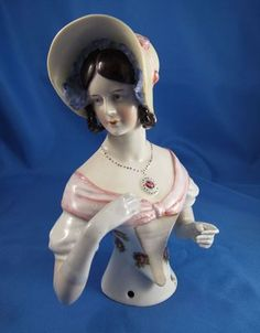 Mouse over image to zoom Have one to sell? Sell it yourself Vintage LARGEST Goebel Half Doll Ever! Beautiful and Amazing!