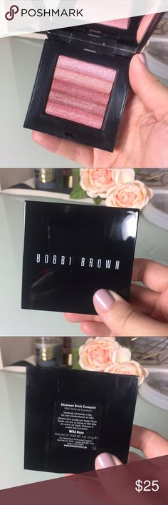 Bobbi Brown Shimmer Brick Limited Edition Bobbi Brown Shimmer Brick in wild rose. Light dent in the product. 80% left! I absolutely love this, but own a backup and wanted to sell one. The most glowy Blush ever! Bobbi Brown Makeup Blush