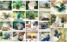 Something Blue Shoe Clips. Aqua Mint Peacock & by sofisticata