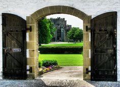 Raby Castle Through Gateway by Darwin70, via Flickr