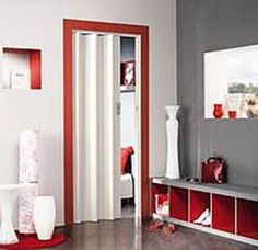 Vouwdeur Grosfillex Wit Hoogglans Spacy Decoration, Ideas Para, Tall Cabinet Storage, Bookcase, Sweet Home, Entryway, Shelves, Curtains, Room