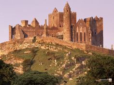 The Rock of Cashel County Tipperary Ireland. I've seen this in movies... would love to see in person someday!