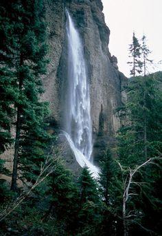 Falls Creek Falls, Pagosa Springs, CO   © Marsha K. Russell