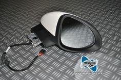 Neu Original Spiegel mit Glas Komplette Weiß Porsche Cayenne 958 2011-2013 Nr. 7P5857502H