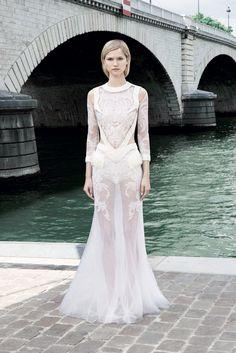 Givenchy Fall 2011 Couture Fashion Show - Kasia Struss (Women)