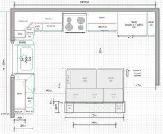Image Result For 10 X 16 Kitchen Floor Plan Kitchen Layout U Shaped Small Kitchen Layouts Kitchen Floor Plans